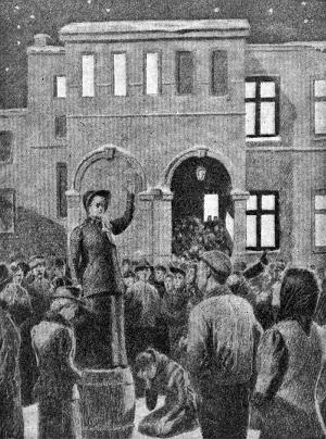 Hanna Ouchterlony åpner ilden i Norge 22. januar 1888 - Jeanna Corneliussen var med under møtene, men henne er det ikke noe godt bilde tilgjengelig av.