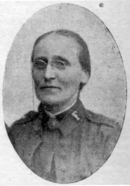 Kristine Olsen var en av pionerene i Frelsesarmeen i Norge. Hun fikk en dramatisk skjebne.