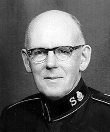 General Frederick Coutts var Frelsesarmeens verdensleder 1963-69