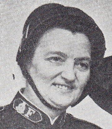 Helene Løndahl ble pensjonert som oberst og sjef for Kvinners Sosiale Arbeid i Sverige.
