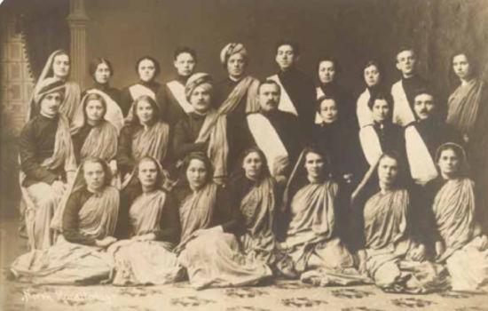 Den norske misjonærgruppen som reiste ut i 1914