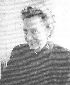 Oline Kleivstølen var den første, norske frelsesoffiseren på Haiti.