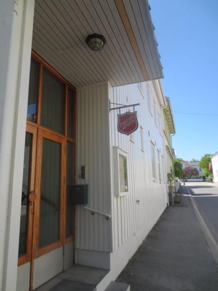 Frelsesarmeens lokale i Grimstad (Foto: Nils-Petter Enstad)