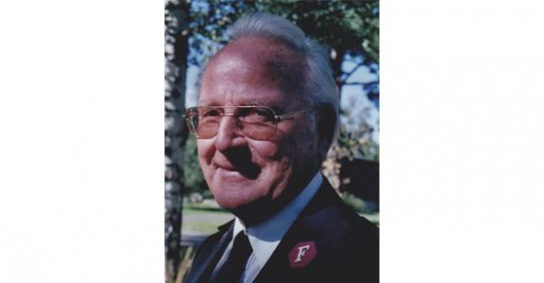 Major Einar Holberg er forfremmet til herligheten i en alder av 91 år.